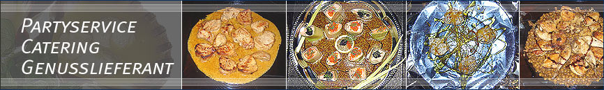 Partyservice, Catering, Fingerfood, Lüneburg
